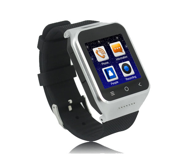 Android 4.4 OS 3G Watch Phone LMW14